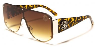 Kleo Flat Top Shield Wholesale Sunglasses LH-M7815