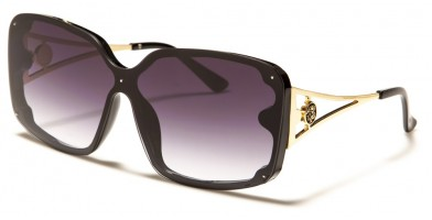 Kleo Rimless Butterfly Wholesale Sunglasses LH-P4041