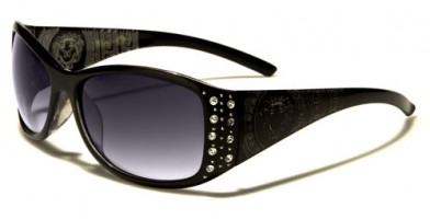 Kleo Rhinestone Women's Sunglasses In Bulk LH3084RH