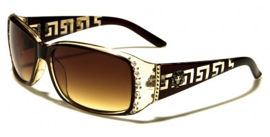 Kleo Rhinestone Women's Sunglasses Wholesale LH3094RH