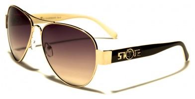 Kleo Aviator Women's Sunglasses In Bulk LH7803OC