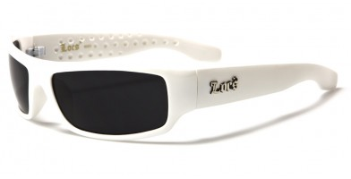 Locs Rectangle Men's Bulk Sunglasses LOC9003-WHT