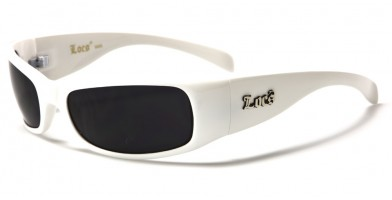 Locs Rectangle Men's Wholesale Sunglasses LOC9005-WHT