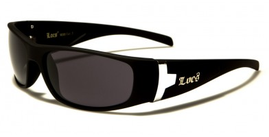 Locs Oval Men's Wholesale Sunglasses LOC9030-MB
