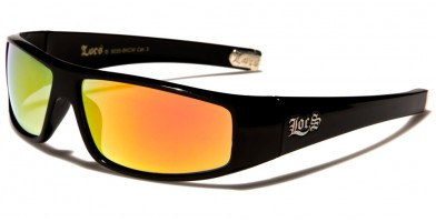 Locs Rectangle Men's Sunglasses Wholesale LOC9035-BKCM