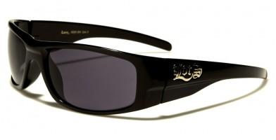 Locs Rectangle Men's Sunglasses Wholesale LOC9085-BK