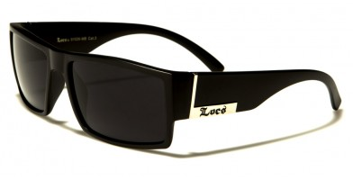 Locs Square Men's Bulk Sunglasses LOC91026-MB