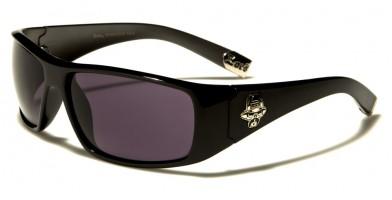 Locs Rectangle Men's Sunglasses In Bulk LOC91043-GUN