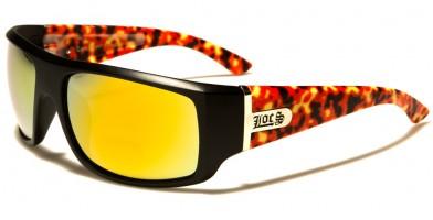 Locs Rectangle Men's Sunglasses Wholesale LOC91057-FLAME