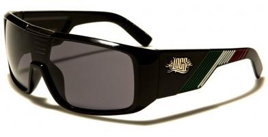 Locs Mexican Flag Colors Sunglasses In Bulk LOC91059-MEX