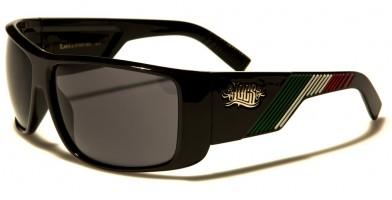 Locs Mexican Flag Colors Bulk Sunglasses LOC91060-MEX