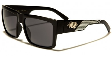 Locs Square Men's Sunglasses In Bulk LOC91061-MIX