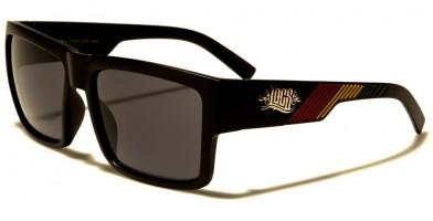 Locs Rasta Colors Men's Sunglasses Wholesale LOC91061-RAS