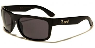 Locs Oval Men's Sunglasses Wholesale LOC91063-BK