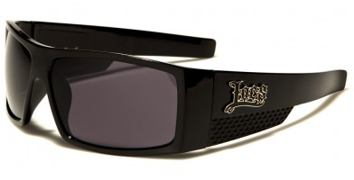 Locs Rectangle Men's Sunglasses Wholesale LOC91067-BK