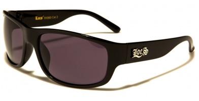 Locs Oval Men's Wholesale Sunglasses LOC91080-BK