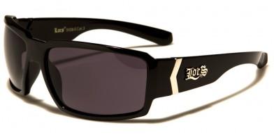 Locs Rectangle Men's Sunglasses Wholesale LOC91084-BK