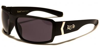 Locs Rectangle Men's Wholesale Sunglasses LOC91084-MB