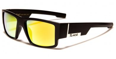 Locs Square Men's Sunglasses Wholesale LOC91085-MBRV