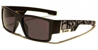 Locs Square Men's Sunglasses Wholesale LOC91085-SKL
