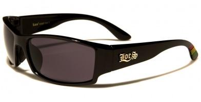 Locs Rectangle Men's Bulk Sunglasses LOC91087-MIX