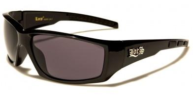 Locs Rectangle Men's Wholesale Sunglasses LOC91099-BK