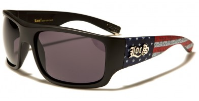 Locs USA Flag Men's Wholesale Sunglasses LOC91107-USA