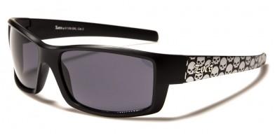 Locs Skull Print Wholesale Sunglasses LOC91108-SKL
