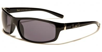 Locs Oval Men's Sunglasses Wholesale LOC91116-BK