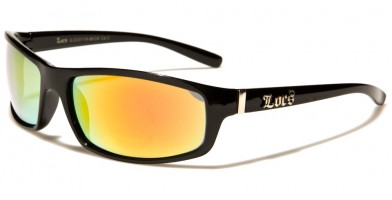 Locs Oval Men's Wholesale Sunglasses LOC91116-BKCM