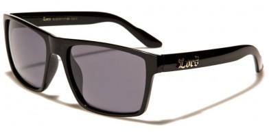 Locs Classic Men's Sunglasses Bulk LOC91117-BK