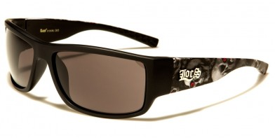 Locs Skull Print Bulk Sunglasses LOC91125-SKL