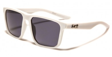 Locs Square Men's Sunglasses Wholesale LOC91130-WHT