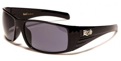 Locs Oval Men's Sunglasses in Bulk LOC91137-BK