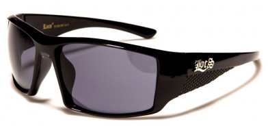 Locs Rectangle Men's Bulk Sunglasses LOC91138-BK