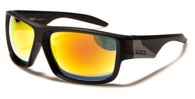 Locs Oval Men's Sunglasses Wholesale LOC91142-MBRV