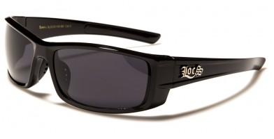 Locs Oval Men's Sunglasses Wholesale LOC91145-BK