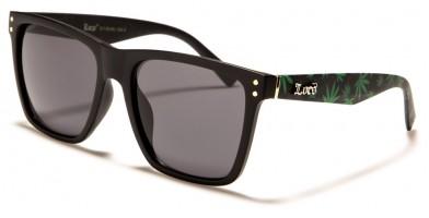 Locs Marijuana Print Classic Wholesale Sunglasses LOC91149-MJ