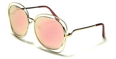 Butterfly Pink Lens Women's Bulk Sunglasses M10100-PINK