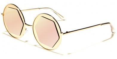 Hexagon Lens Round Women's Bulk Sunglasses M10306-FT