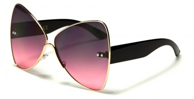 Butterfly Oceanic Lens Women's Wholesale Sunglasses M10433-OC