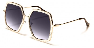 Butterfly Square Women's Wholesale Sunglasses M10573
