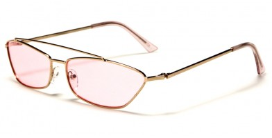 Rectangle Color Lens Women's Sunglasses in Bulk M10652