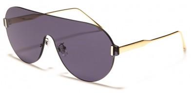 Shield Rimless Women's Bulk Sunglasses M10726