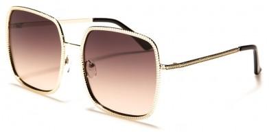Square Butterfly Women's Sunglasses Wholesale M10741