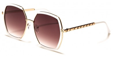 Butterfly Squared Women's Wholesale Sunglasses M10742