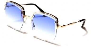 Butterfly Square Women's Sunglasses in Bulk M10775