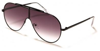Aviator Shield Unisex Sunglasses Wholesale M10782