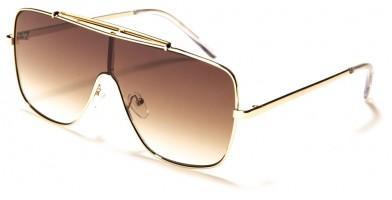 Shield Rectangle Unisex Wholesale Sunglasses M10783