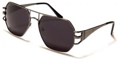 Rectangle Brow Bar Unisex Sunglasses in Bulk M10791